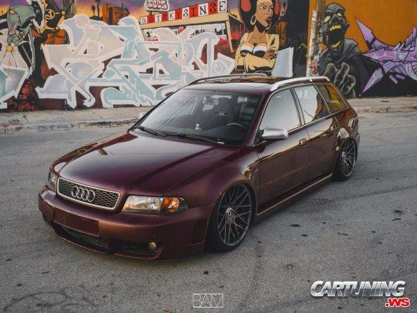 Audi RS4 B5 on Air