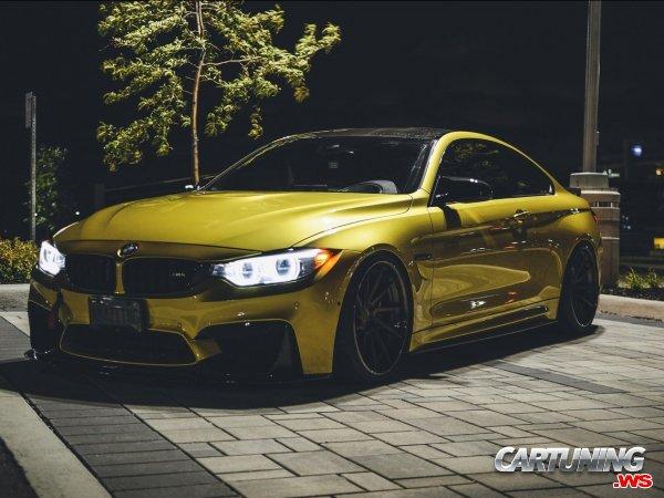 Tuned BMW M4 F82