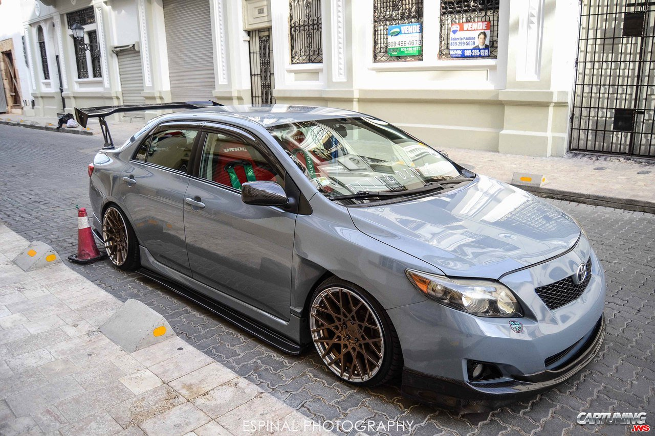 Tuning Toyota Corolla Front And Side