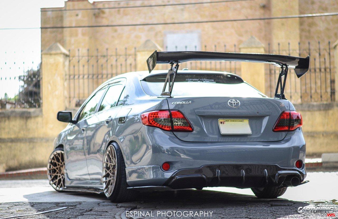 Tuning Toyota Corolla Rear
