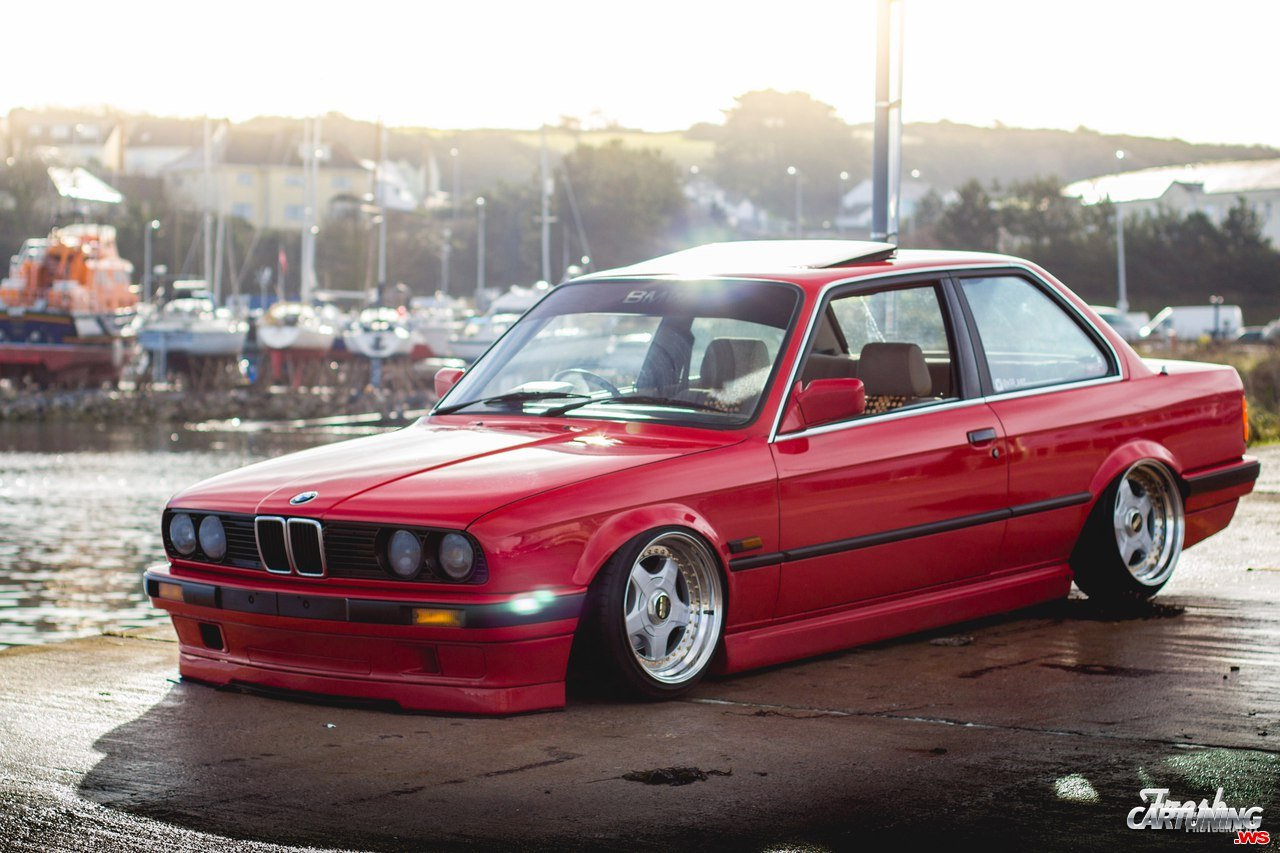 grounded bmw 325i coupe e30. Black Bedroom Furniture Sets. Home Design Ideas