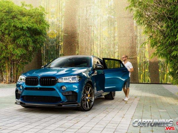 BMW X6M F16 on Air