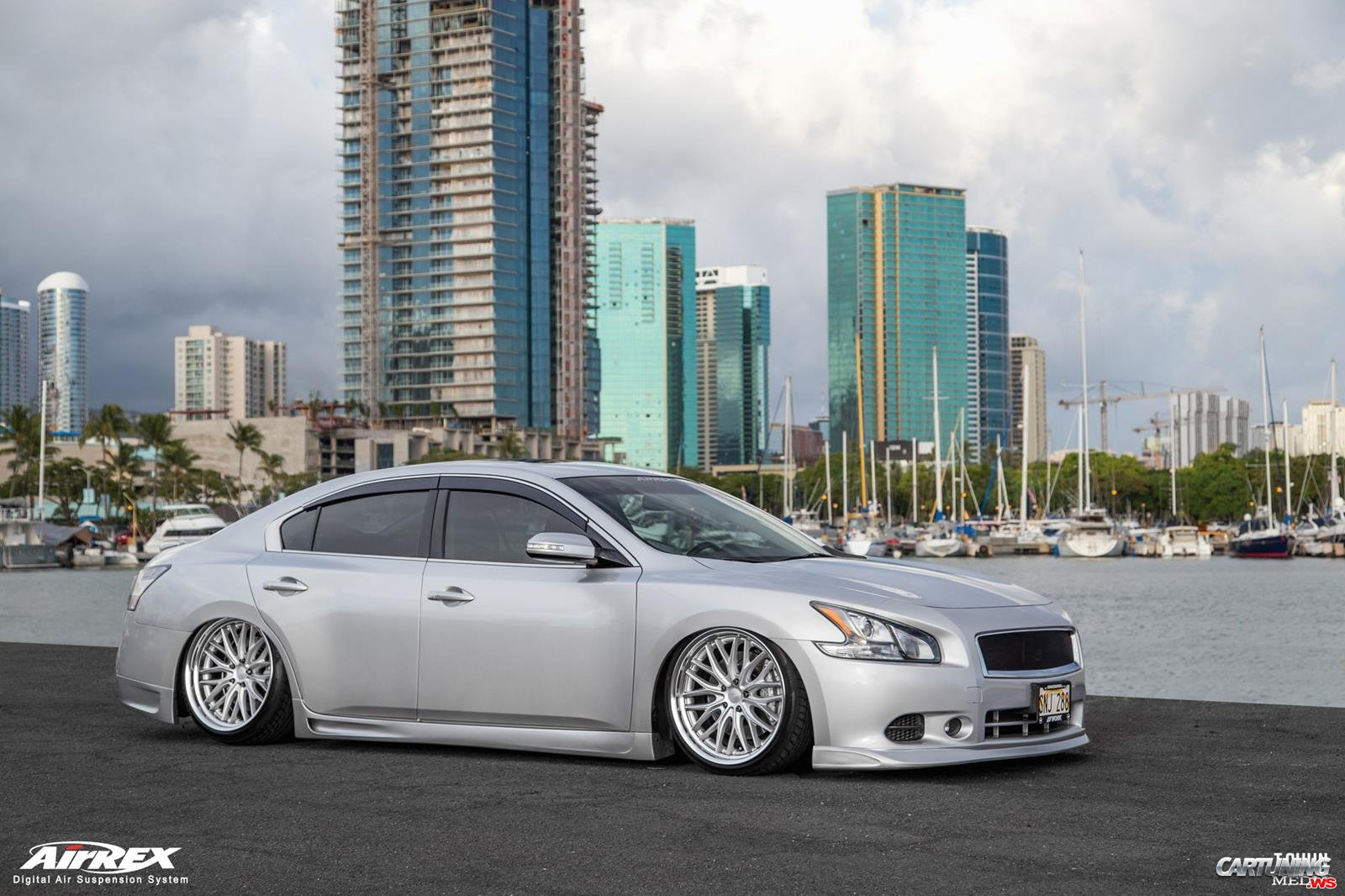 Tuning Nissan Maxima 2014 front