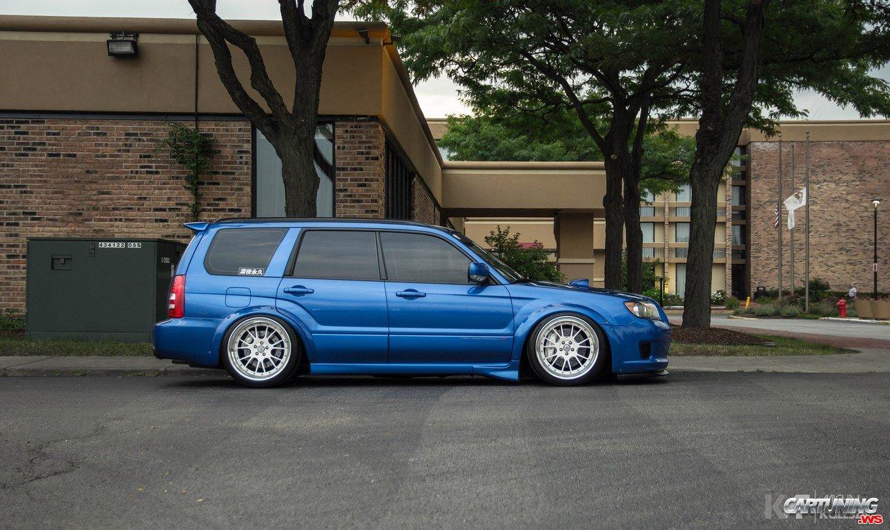 Subaru Legacy Lowered >> Lowered Subaru Forester side