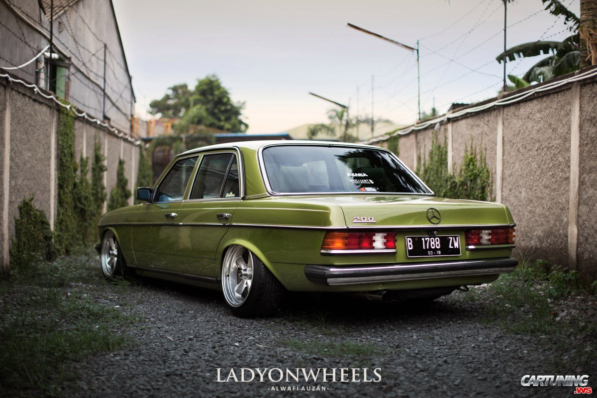 Tuning Mercedes Benz 200 W123 Back