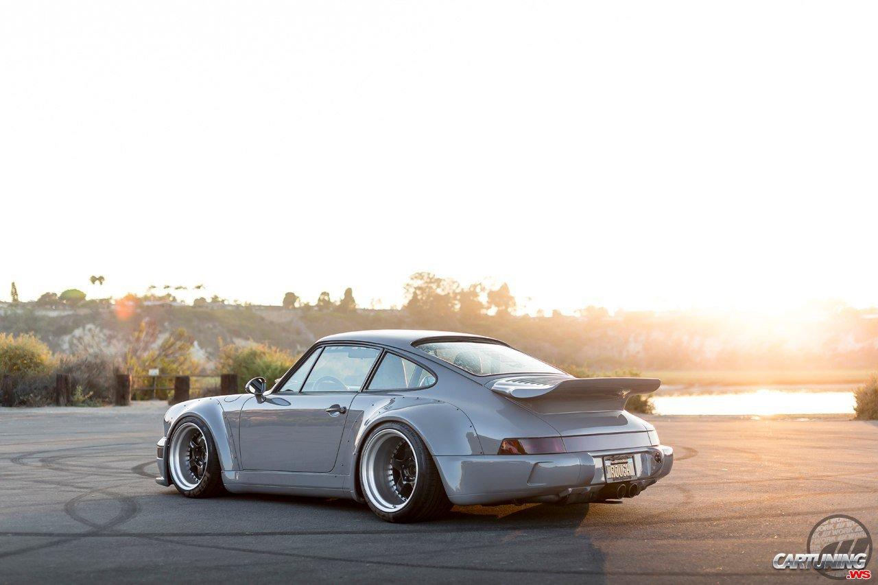 Tuning Porsche 930 Turbo Rwb Rear