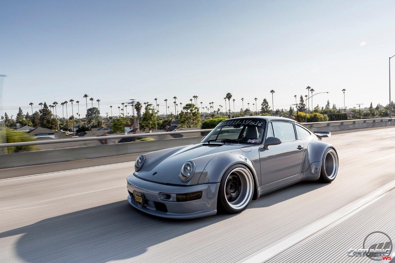 Tuning Porsche 930 Turbo Rwb Side