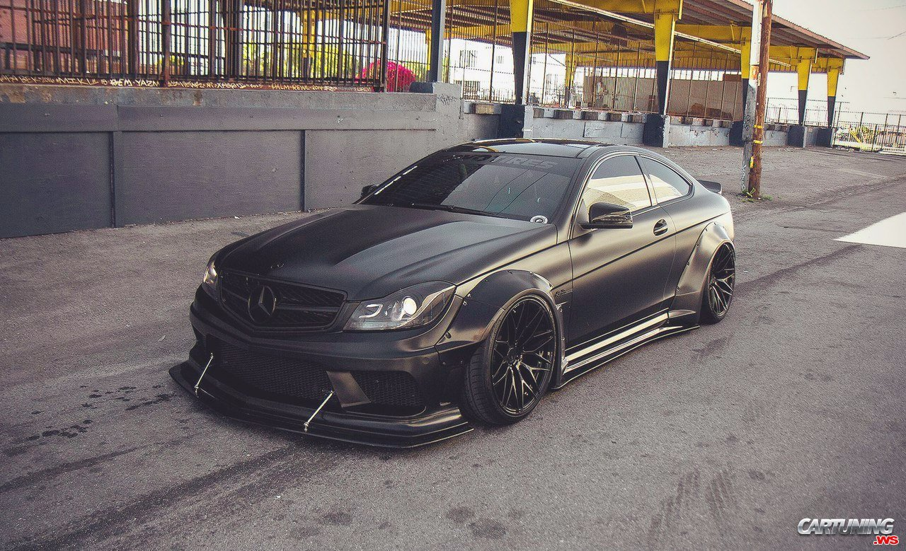 tuning mercedes benz c63 amg coupe w204. Black Bedroom Furniture Sets. Home Design Ideas