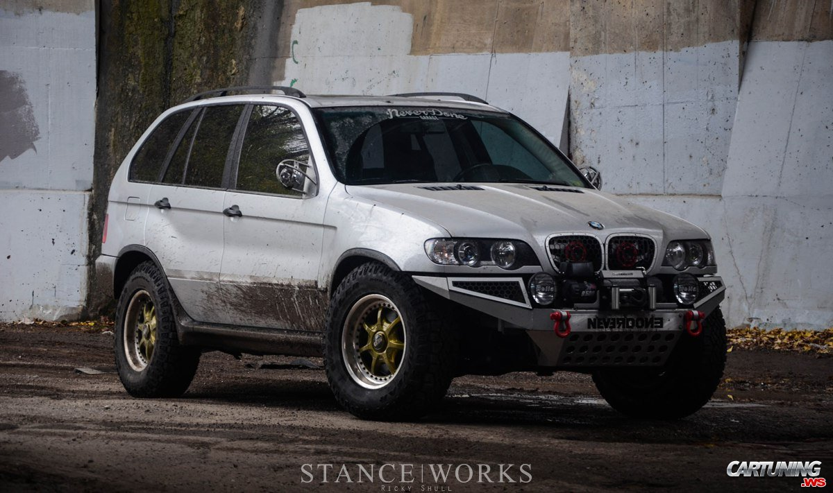 lifted bmw x5 e53 side