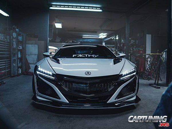 Acura NSX 2018 Wide body