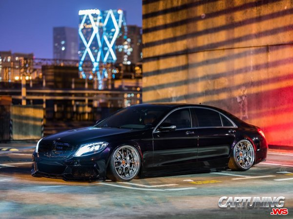 Mercedes-Benz S550 W222 on Air
