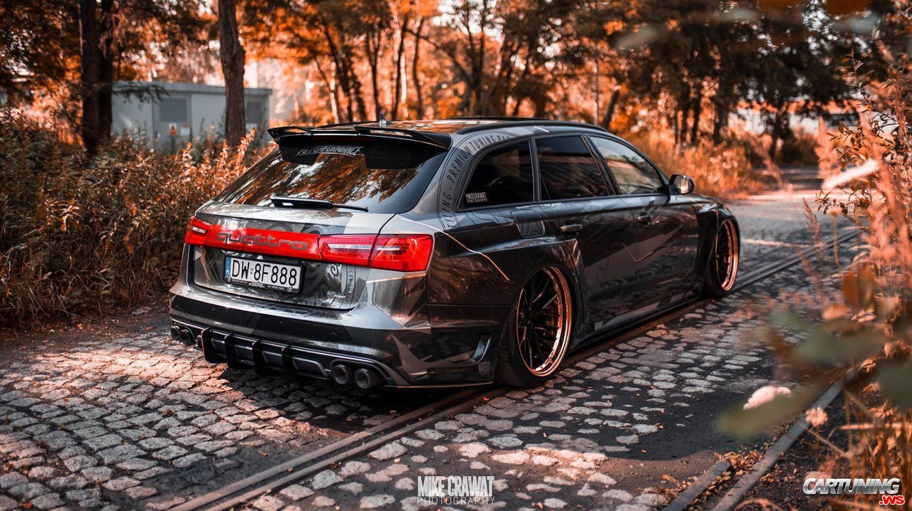 audi rs6 avant c7 widebody back. Black Bedroom Furniture Sets. Home Design Ideas