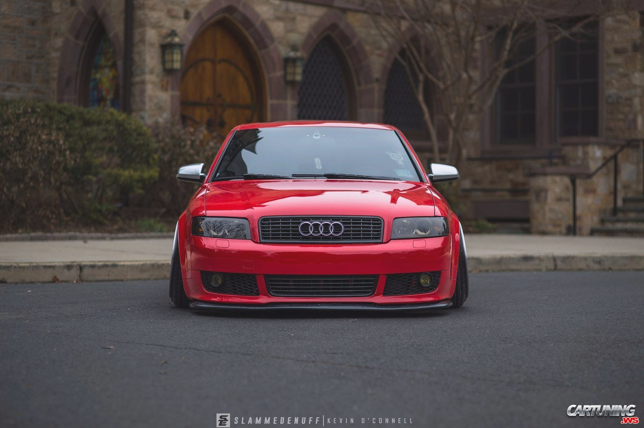 Stanced Audi A4 B6 Front