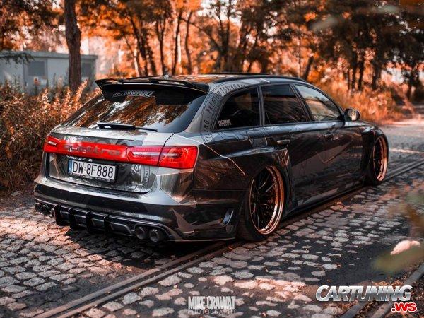 Toyota Supra Wagon >> Audi RS6 Avant C7 Widebody back