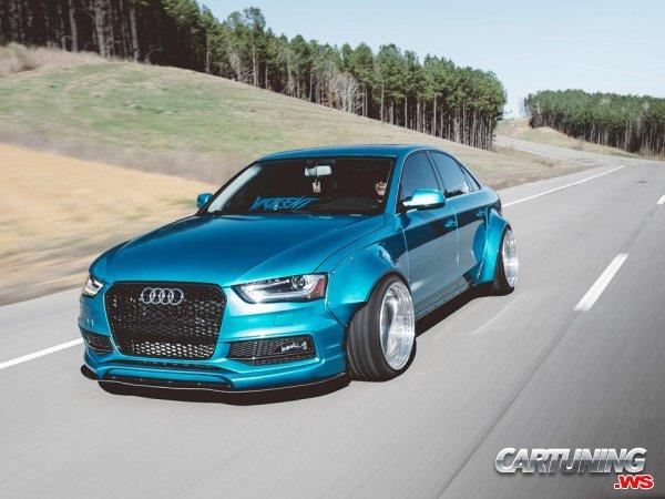 Audi A4 B8 Widebody