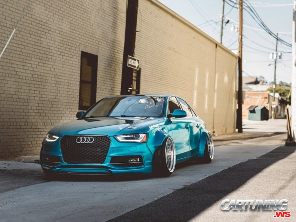 Audi A4 B8 Widebody