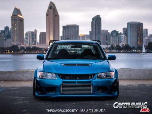 Mitsubishi Lancer Evolution 9 Widebody