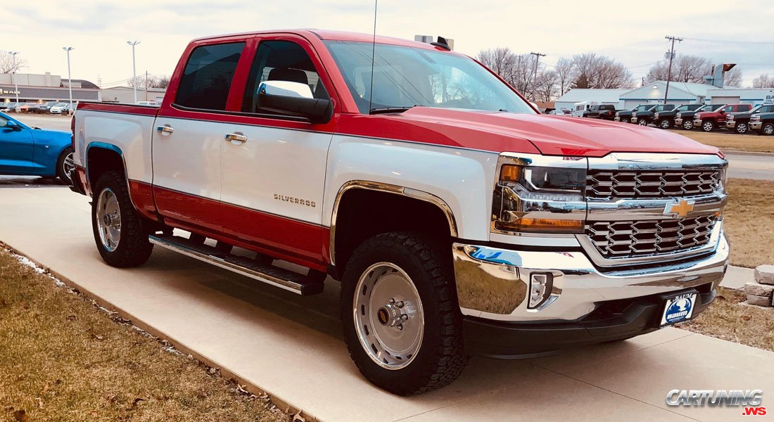 Tuning Chevrolet Silverado 2017 Front