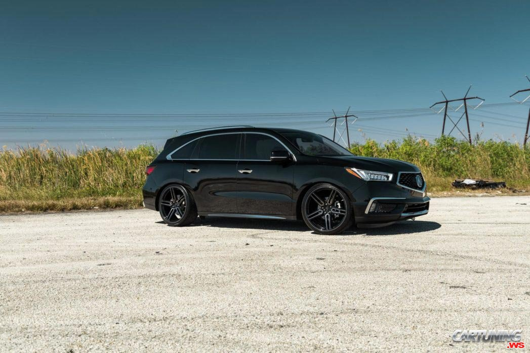 Stance Acura Mdx 2018 Side