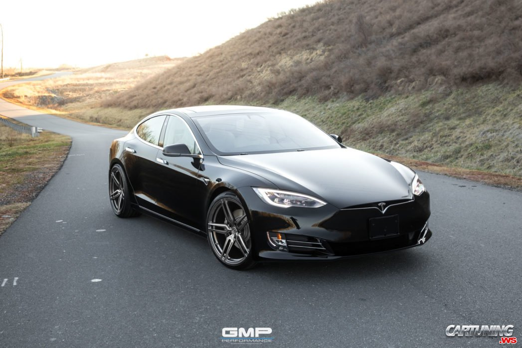 tuning tesla model s 100d 2018 front. Black Bedroom Furniture Sets. Home Design Ideas