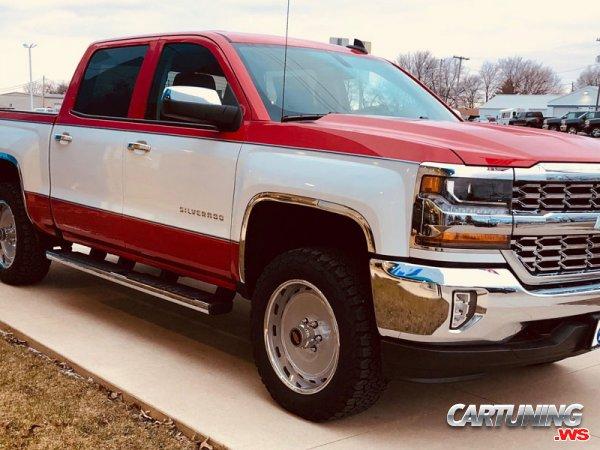 Tuning Chevrolet Silverado 2017