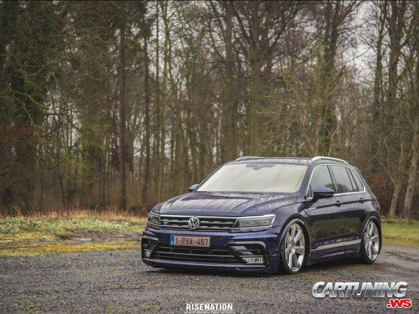 Stanced Volkswagen Tiguan 2017