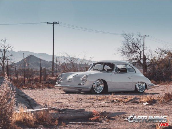 Stanced Porsche 356