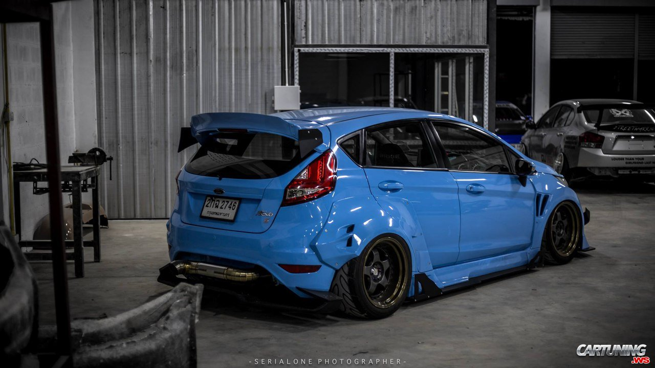 Ford Fiesta Widebody Back