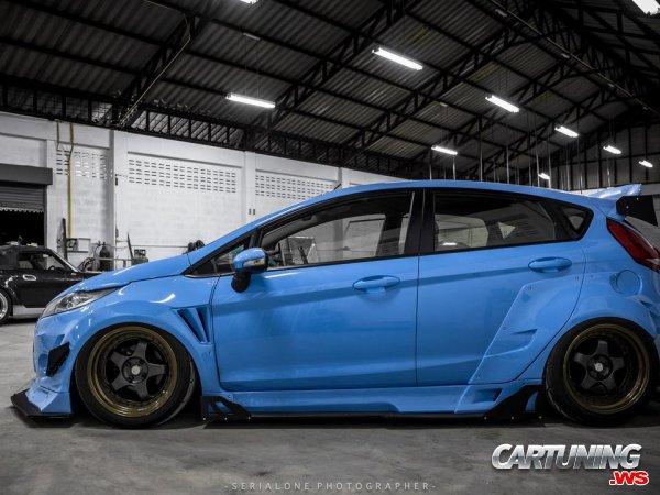 Ford Fiesta Widebody
