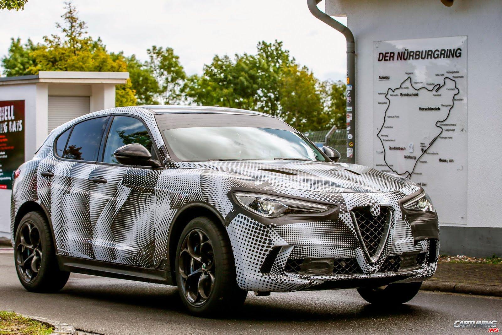 Tuning Alfa Romeo Stelvio Quadrifoglio Side