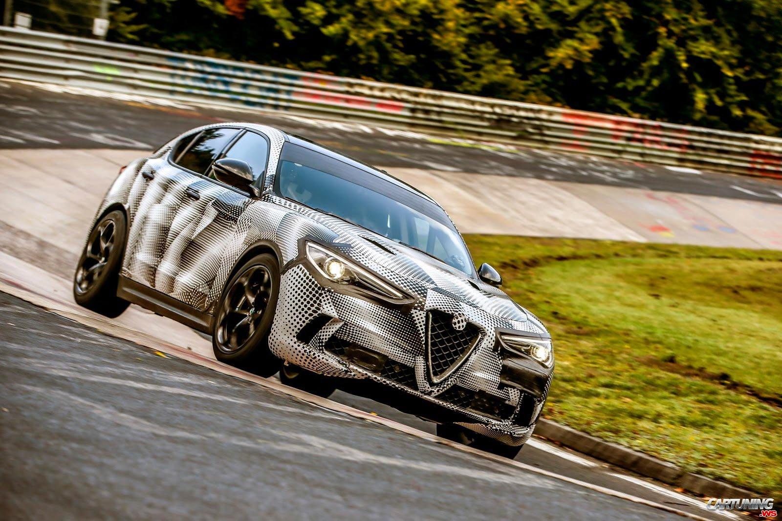 Tuning Alfa Romeo Stelvio Quadrifoglio Front