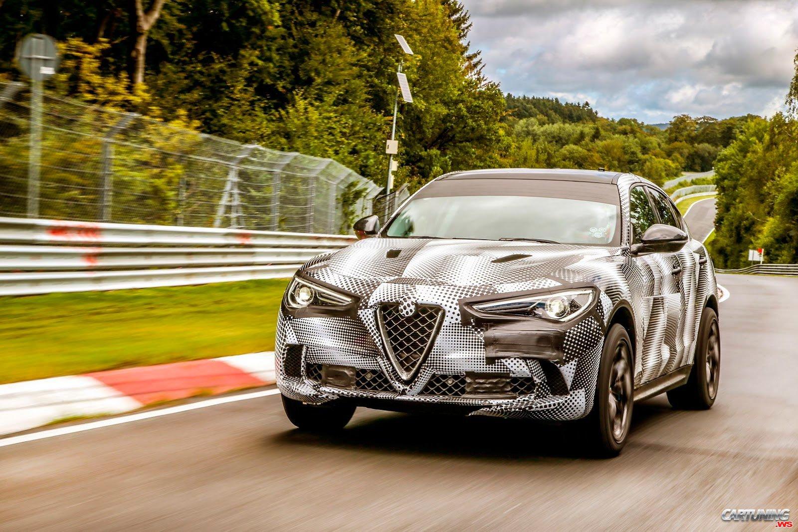 Tuning Alfa Romeo Stelvio Quadrifoglio
