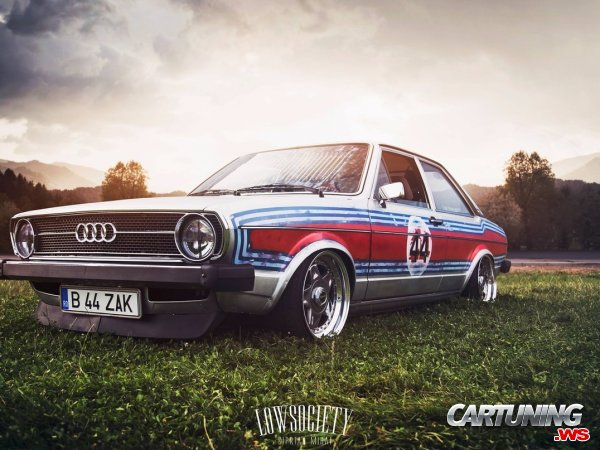 Tuning Audi 80 Coupe B1