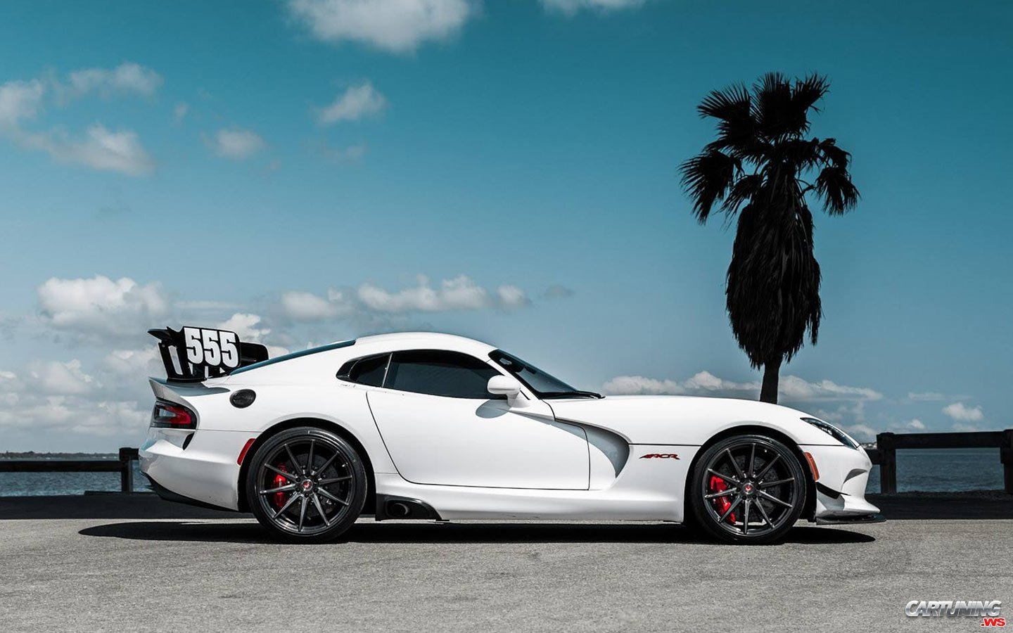 Tuning Dodge Viper Gts Side