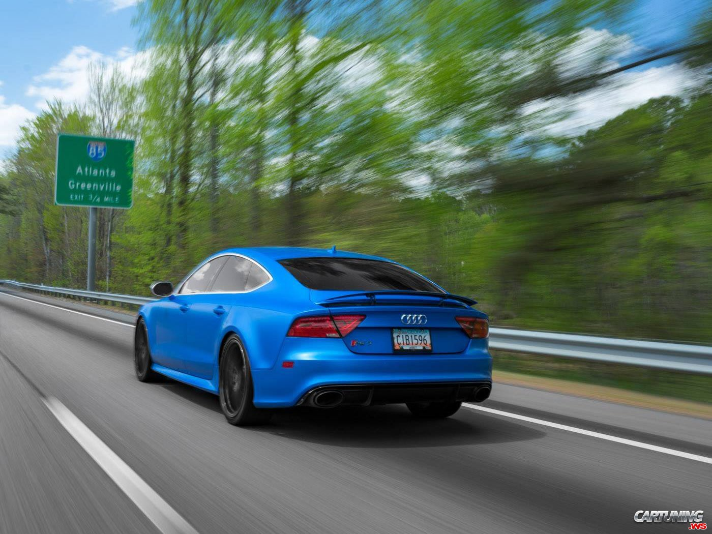 Tuning Audi Rs7 Rear