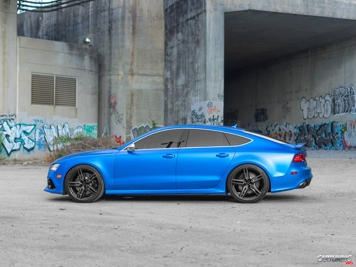 Tuning Audi Rs7 Side