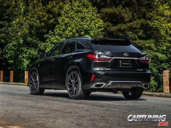 Tuning Lexus RX350 F-Sport 2018