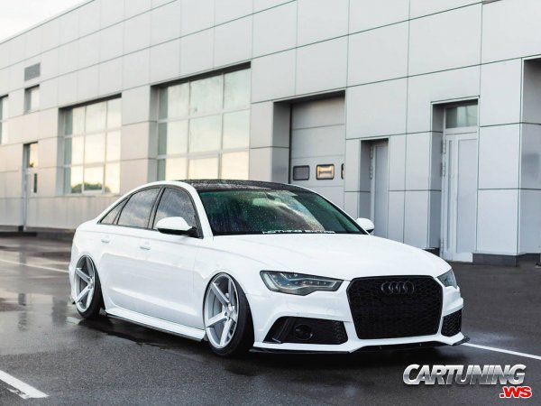 Audi A6 C7 on Air