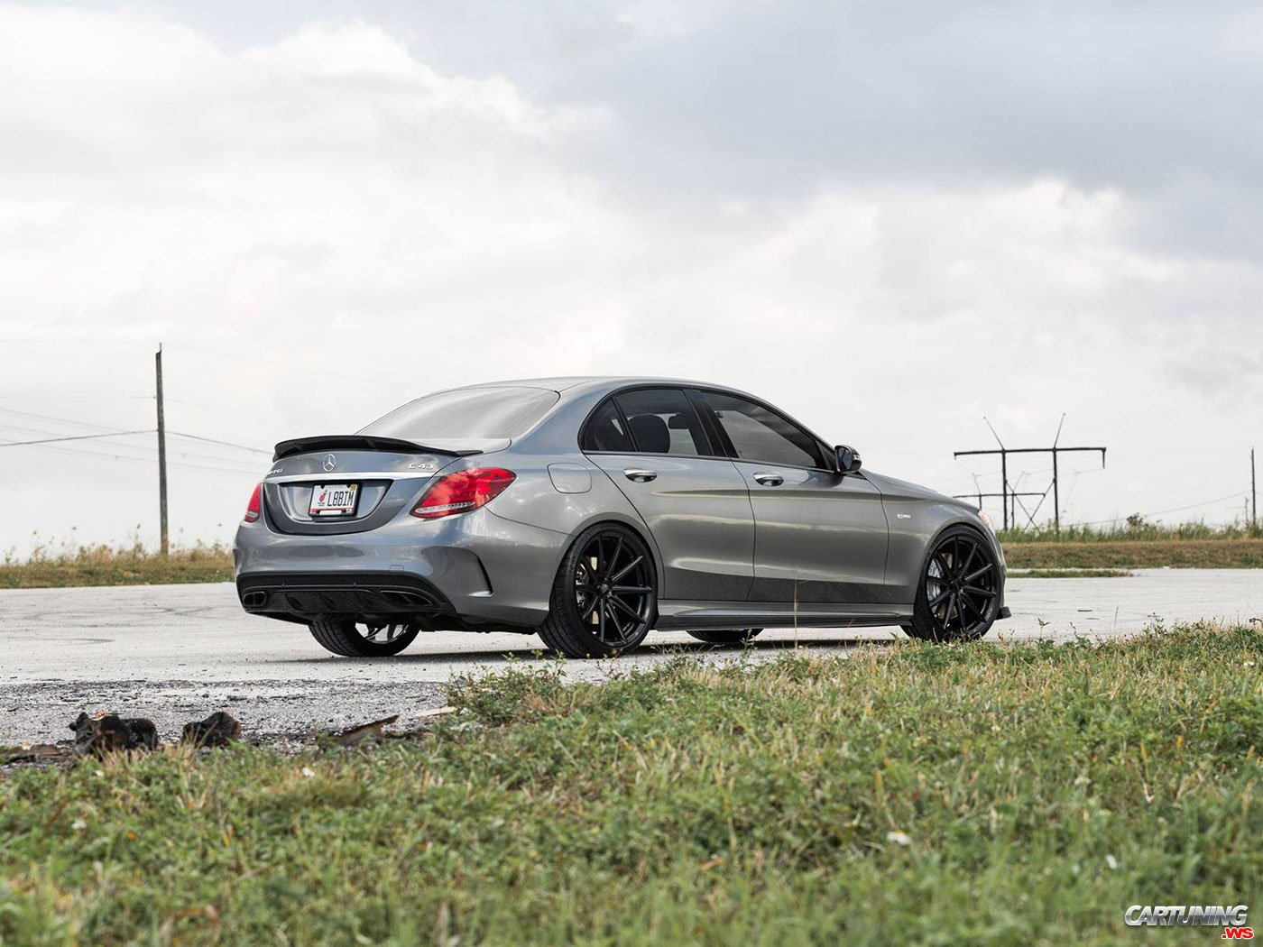 Tuning Mercedes-Benz C43 AMG W205, back