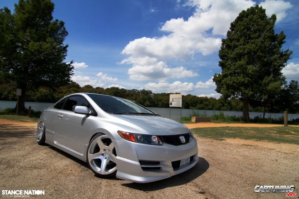 Tuning Honda Civic Si Coupe 2010 Front