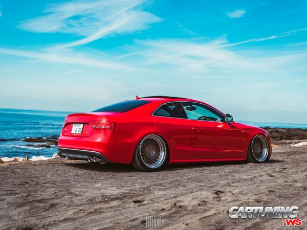 Audi S5 Coupe on Air