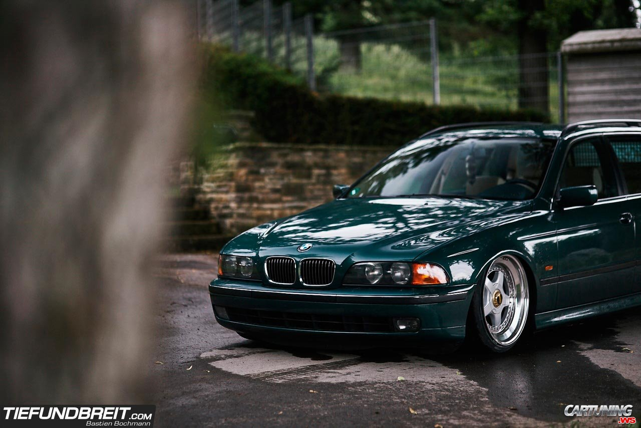 Stance Bmw 520i Touring E39 Front And Side