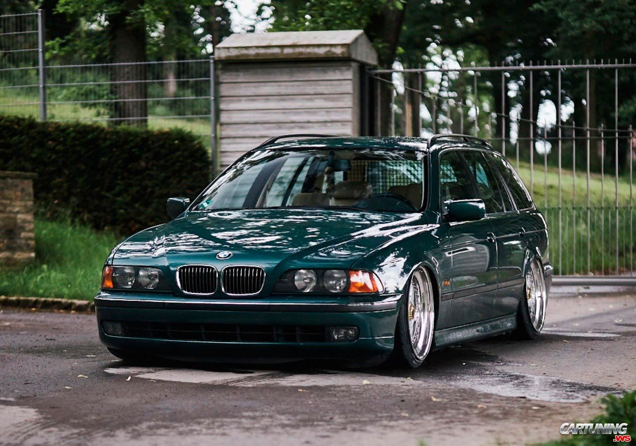 Stance Bmw 520i Touring E39 Front
