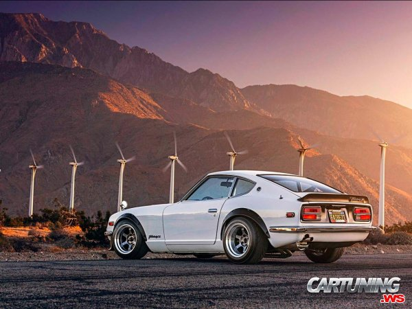 tuning datsun 240z 1970 rear. Black Bedroom Furniture Sets. Home Design Ideas