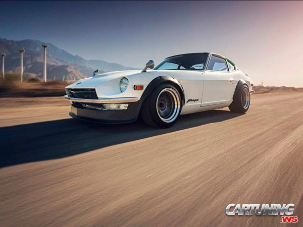 tuning datsun 240z 1970 side. Black Bedroom Furniture Sets. Home Design Ideas
