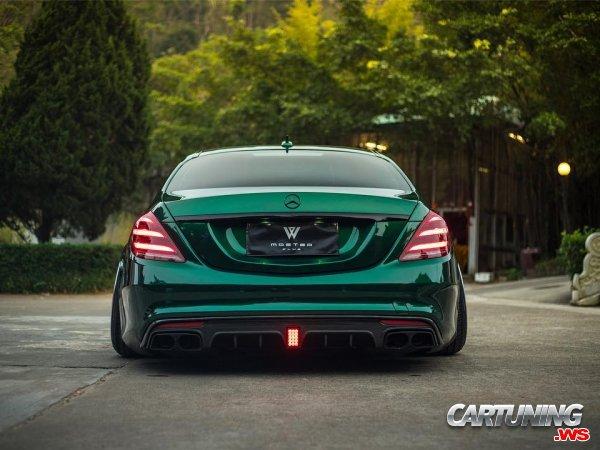 Stance Mercedes-Benz S560 W222 2018