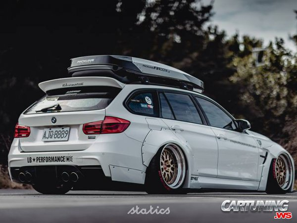 BMW 3 Touring F31 Widebody