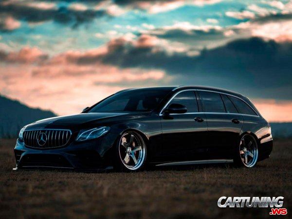 Stance Mercedes-Benz E300 Estate S213