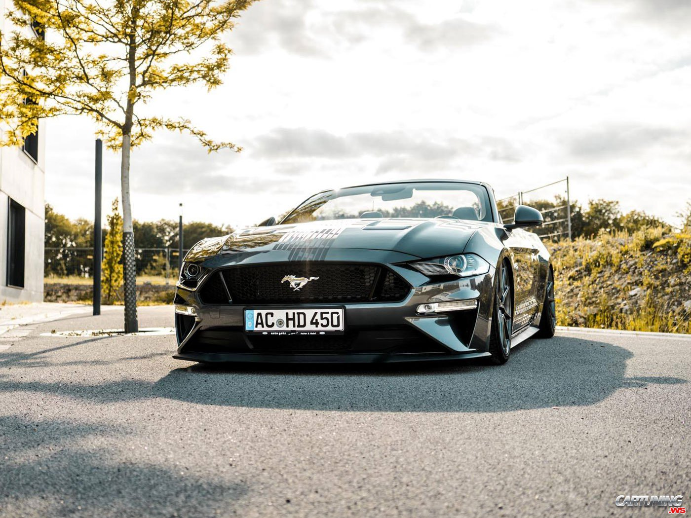 Tuning Ford Mustang Gt Convertible 2019 Front