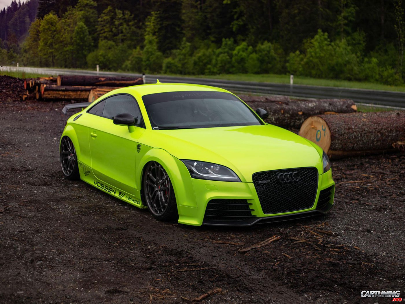 Audi TT RS 8J on Air